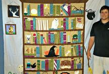quilts - HP bookcase