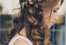esküvői haj / az esküvői haj
