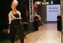 Project - Let's play! / Playfull fashion show of the 2010 collaborative collection with stylist Remus Opris.