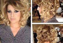 Curly Hair Creative Ideas