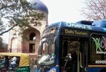 Hop On Hop Off Delhi SightseeingTour  / Explore Delhi at your own pace aboard an air-conditioned bus on a hop-on hop-off sightseeing tour! There are two routes to choose from -- select the red route to hop on and off at 14 stops as many times as you like in one day, or choose the purple route for a two-day pass with 20 stops. http://www.hohodelhi.com