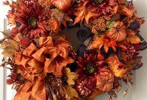 fall wreathes