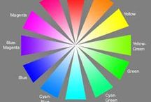 Color Wheels / Various types of color wheels (understanding color).