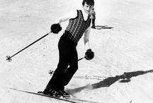"""Tuttti in pista!!! / Per festeggiare l'apertura della nuova stagione sciistica, vi proponiamo una """"bianca"""" gallery vintage"""