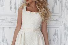 Короткие свадебные платья #ShortWeddingDresses / Короткие свадебные платья