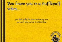 Hufflepuff is it