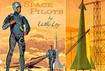 Retro Future / Retro sci fi, robots, spacemen, rocket ships and ray guns.  / by Adam Crockett