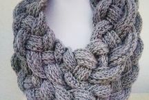 Double layared braided cowl