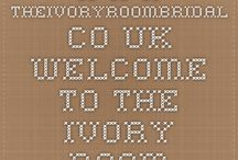 My Blog Page / Links to all my blogs on The Ivory Room website, a little bit of everything!
