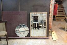 mirror,wall mirror.wall decor & vanity / wood working,wood arts,wood framing building / by atrin Rezaii
