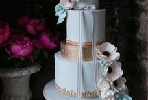 Wedding cakes for Holly