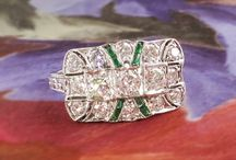 Emerald Finds / One of a kind estate, vintage & antique emerald jewelry from Jewelry Finds®!!!