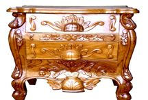 Wooden Hand Craved Teak Furniture / Royalzig furniture have high quality wood, hand carved designs and hand painted. We use season's best wood to make our product, we have a team of best artisan.