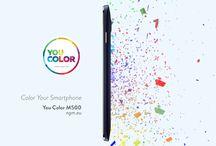 Ngm You Color / L'ultima novità firmata Ngm si chiama You Color e cambia colore ogni volta che vuoi! Con la nuova linea #YouColor, rigorosamente Dual Sim, personalizzi in modo facile e veloce la nuance del tuo smartphone attraverso il cambio della suitCOVER, ovvero del retro del dispositivo, che avvolge interamente lo You Color (ad esclusione del touch frontale).