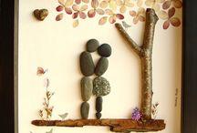 Πίνακες με πέτρες