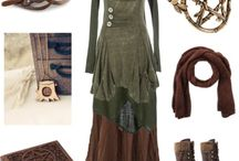 Wood witchy + Strega clothes