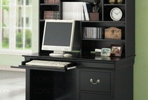 Office ideas / Small area and want to repurpose. / by Mary Ann Emerick