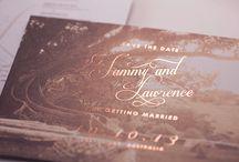 Weddings // Stationery by Gemma Milly