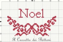 Christmas - cross stitching