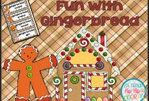 Gingerbread / Fun with gingerbread stories and activities!