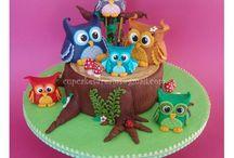 Polymer Clay Owl's
