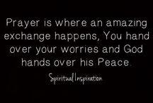 Prayer and Inspiration / by Donna Scheuer