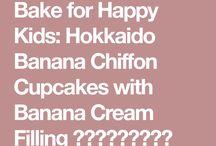 Happy Hokaido Chifon cup cake