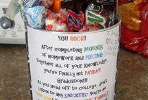 buckets for Tyler's friends