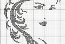 Cross Stitch-Portrete
