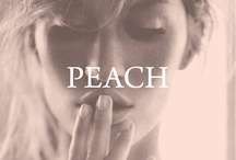 peach / by Left on Houston