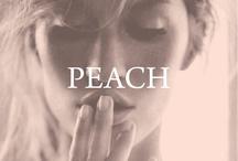 peach / by Left on Houston