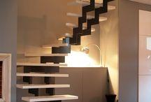 Trappen met metaal / Metalen trappen in combinatie met glas of hout voor elk interieur