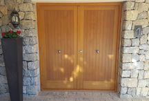 Puertas de entrada y/o de paso instaladas por nuestra empresa