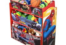 Toy and Toy Organiser / Toy Organizer is the perfect way to keep your little one's books and toys neatly organized in style.