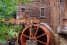 szélmalmok , vízimalmok / mills
