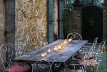 Outdoor table / by Gloria Anderson