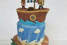 Jake en de nooitgedacht piraten taarten