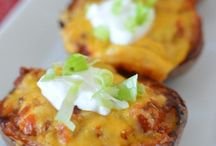 Potatoes  skins / Potatoes