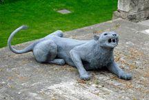 wild cats art