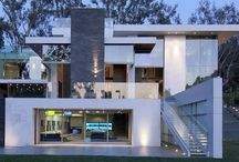 Architecture and exterior he designs