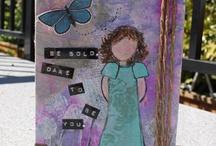 Art journal kort