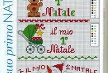 Primo Natale Punto Croce