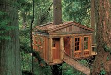 Tree Houses/Cabins / by Evz Jewelry Box