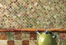 mosaic + tiles