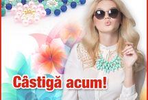 Concurs / Intra pe site si inscrie-te in concurs pentru a castiga un accesoriu fashion din catalogul Bijutrend! Obtine mai multe puncte si invita-ti prietenii la joc!