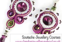 Soutache Jewellery  / Learn to make Soutache Jewellery at the London Jewellery School