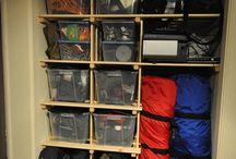 Gear Closet Ideas