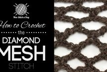Crochet stitches & ideas