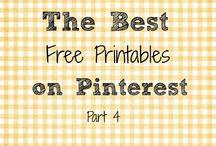 DIY/Crafts: Printables / by Amelia Kleymann