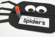 Kindergarten Spiders...